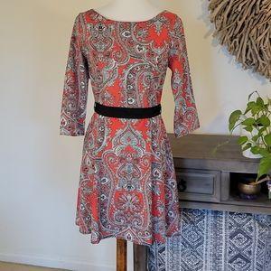 NWT Ezra Fit & Flare Dress